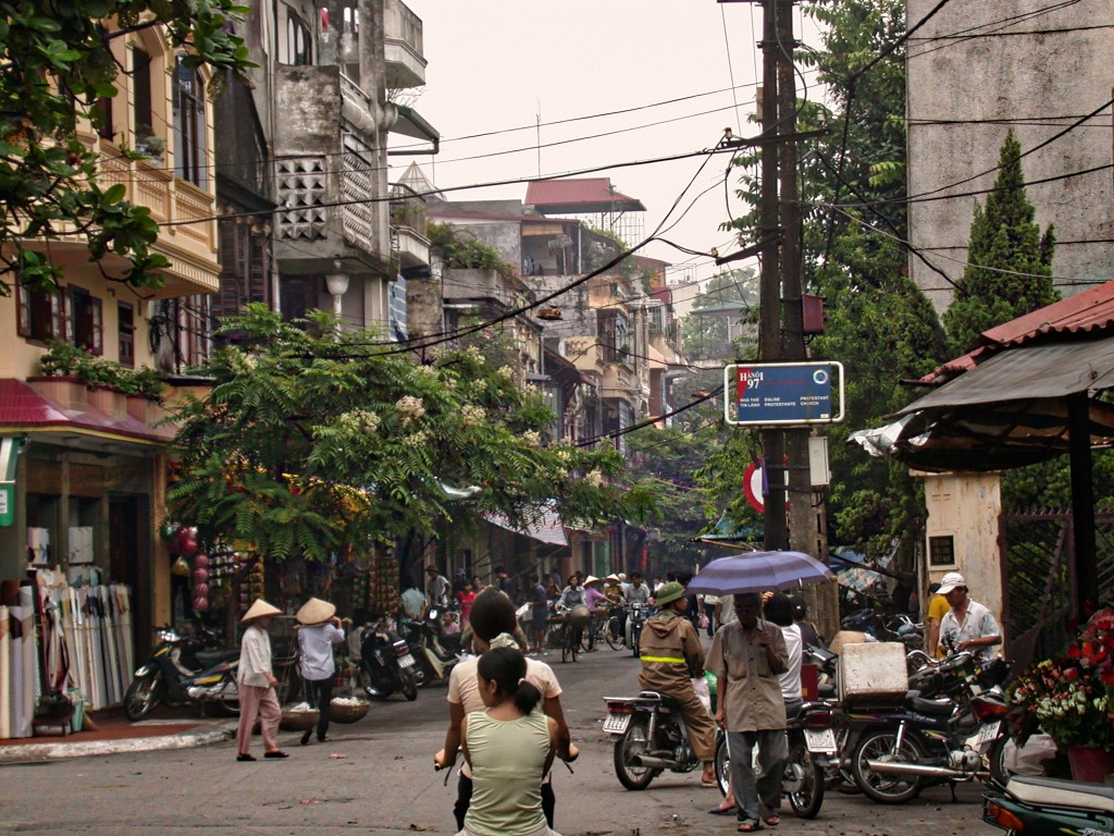 Ho Chi Minh City in the summer of 2002.