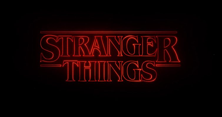 Stranger Things Title Page
